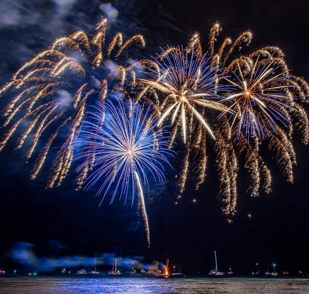 Maui Fourth of July 2019 fireworks Kahana Villa Resort